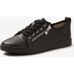 Rivers Leathersoft Zip Lace Up Sneaker - Black - 39 found on Bargain Bro from BE ME for USD $20.28