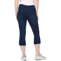 Rockmans Comfort Waist Mini Stud Crop Jean - Indigo - 10 found on Bargain Bro Philippines from W Lane for $14.34