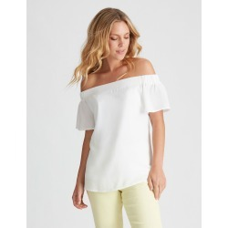 Sslv Off Sh Top - White - 8 found on Bargain Bro Philippines from BE ME for $11.07