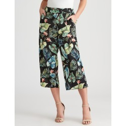 Crossroads Self Tie Print Pant - Palm Print - 12 found on Bargain Bro Philippines from crossroads for $14.14