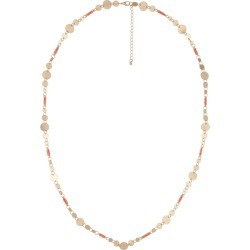 Katies Panama Necklace - Orange Peach - One Size found on Bargain Bro India from Katies for $5.70