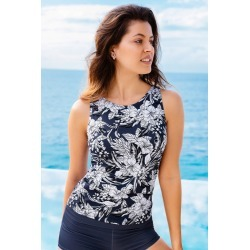 Quayside Tankini - Paradise Print found on Bargain Bro Philippines from crossroads for $34.85