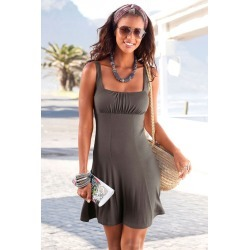 Urban Beach Dress - Taupe - 10 found on MODAPINS from BE ME for USD $13.16