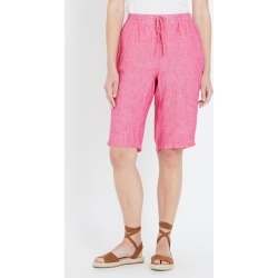 W.lane Linen Short - Strawberry Xdye - 12 found on Bargain Bro from BE ME for USD $21.98