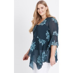Beme 3/4 Bell Sleevedigital Floral cover Up - Green Floral - 14 found on Bargain Bro Philippines from Rockmans for $40.54