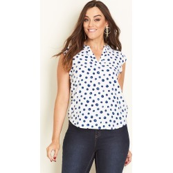 Crossroads V Neck Shirt - Print - 8 found on Bargain Bro from Noni B Limited for USD $7.10