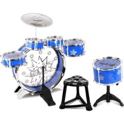 Keezi 11 Piece Kids Drum Set - Multi - One found on Bargain Bro India from Rockmans for $52.47