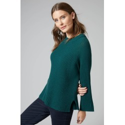 Emerge Lambswool Rib Sweater - Forest - M found on Bargain Bro from crossroads for USD $35.17