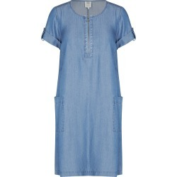 Rivers Short Sleeve Ring Detail Lyocell Midi Dress - Mid Wash - 12 found on Bargain Bro from Noni B Limited for USD $20.28