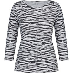 W.lane Animal Print Top - Multi - L found on Bargain Bro from BE ME for USD $19.72