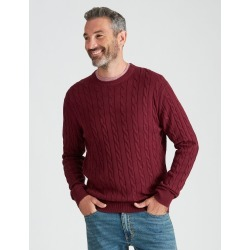Rivers Cable Knit Jumper - Port Royale Marl - XXL found on Bargain Bro India from W Lane for $27.08