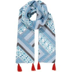 W.lane New Wave Print Scarf - Multi - One Size found on Bargain Bro from Noni B Limited for USD $8.81