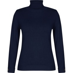 Millers Volume Roll Neck Jumper - Navy - M found on Bargain Bro Philippines from crossroads for $31.43