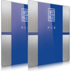 Soga Digital Body Fat Scale Lcd Electronic 2pack - Blue - ONE found on Bargain Bro from Noni B Limited for USD $32.17