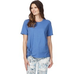 W.lane Twist Front Tee - Cobalt - XL found on Bargain Bro from BE ME for USD $19.72