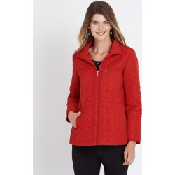 W.lane Quilted Jacket - Red - 18 found on Bargain Bro from BE ME for USD $42.26