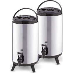 Soga 12l Portable Insulated Brew Pot With Dispenser 2pack - Stainless Steel - ONE