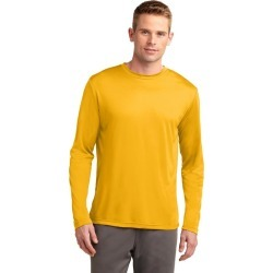 Sport-tek Long Sleeve Posicharge Competitor Tee - Gold - L found on Bargain Bro Philippines from Noni B Limited for $21.21