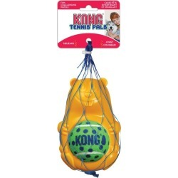 Kong Dog Tennis Pals Beaver Squeaker Bouncy Chew Toy Small - Multi found on Bargain Bro from Rivers for USD $19.74