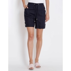 Rockmans Knee Length Linen Short - Forest found on Bargain Bro India from crossroads for $13.68