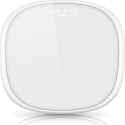 Soga 180kg Digital Fitness Bathroom Scales - White - ONE found on Bargain Bro from Noni B Limited for USD $19.31