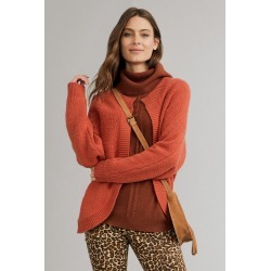 Capture Lambswool Cardi - Pumpkin - XS found on Bargain Bro India from BE ME for $65.17