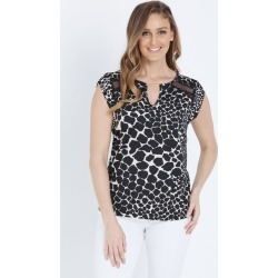 W.lane Lace Detail Top - Multi - 16 found on Bargain Bro from BE ME for USD $22.54