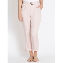 Rockmans 7/8 Length Seam Detail Cargo Pant - Pink found on Bargain Bro from Noni B Limited for USD $8.88