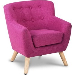 Artiss Kids Fabric Accent Armchair - Pink - One found on Bargain Bro India from Rockmans for $94.34
