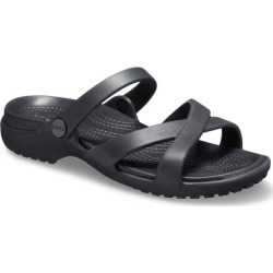 Crocs Meleen Crossband Sandal - Black - 6 found on Bargain Bro from Noni B Limited for USD $24.07