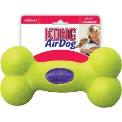 Kong Dog Airdog Squeaker Bone Interactive Fetch Toy Medium - Multi