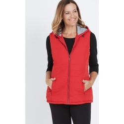 Millers Jersey Lined Puffer Vest - Oriental Red - 22 found on Bargain Bro from Noni B Limited for USD $20.55