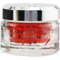Annemarie Borlind Facial Oil For Night Care - Intensive Care Capsules For Stress Skin - Multi - 50caps