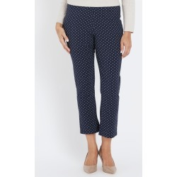 Millers Ankle Bengaline Pant - Navy Polka Dot - 12 found on Bargain Bro from Rivers for USD $5.87