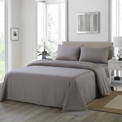 Royal Comfort 1200tc Ultra Soft 4-piece Sheet Set - Charcoal - King found on Bargain Bro India from W Lane for $57.92