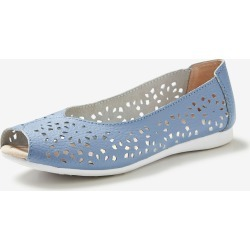Rivers Leathersoft Cutout Peeptoe - Cornflower - 36 found on Bargain Bro Philippines from Rockmans for $21.26