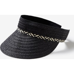 Rivers Visor With Trim - Black - ONE found on Bargain Bro India from Rockmans for $10.13