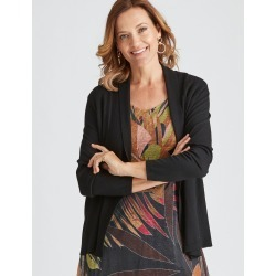 Millers Long Sleeve Edge To Edge Cardigan - Black - S found on Bargain Bro India from W Lane for $15.55