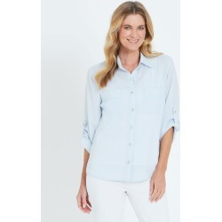 Noni B Sally Spot Shirt - Kentucky Blue - 10 found on Bargain Bro from Noni B Limited for USD $29.58