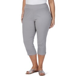 Beme Crop Bengaline Pant - Silver - 14 found on Bargain Bro from Noni B Limited for USD $11.74