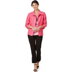 W.lane Embroidered Jacket - Hibiscus found on Bargain Bro India from crossroads for $14.35