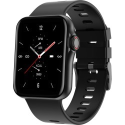 Todo Bluetooth Smart Watch With Heart Rate, Bpm Blood Pressure And Oxygen Monitor - Black - One found on Bargain Bro from Noni B Limited for USD $44.03