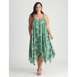 Autograph Woven Strappy Maxi Dress - Jade Paisley - 22 found on Bargain Bro Philippines from crossroads for $19.65
