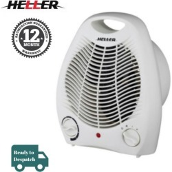 Heller 2000w Upright Fan Heater - White - One found on Bargain Bro Philippines from Rockmans for $26.94