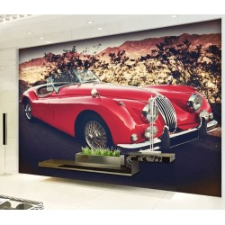 Aj Wallpaper 3d Sports Car Travel 1032 Wall Murals Removable Wallpaper Self-adhesive Vinyl - Multi - XXL found on Bargain Bro Philippines from crossroads for $385.05