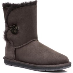 Ugg Boots Short Button - Chocolate - AU W5/ M3 found on Bargain Bro from Rivers for USD $80.25