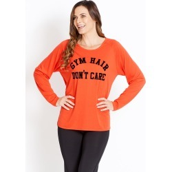 Rivers Body Logic Long Sleeve Top - Vermillion Red - XXS found on Bargain Bro from BE ME for USD $19.71