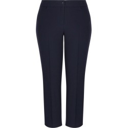Autograph Two Way Stretch Regular Pant - Navy - 14 found on Bargain Bro India from Rockmans for $20.52