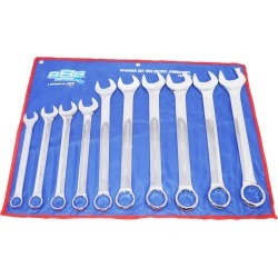 888 Tools Spanner Set Roe Metric Jumbo 10pc - Multi