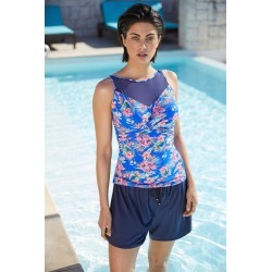 Quayside Mesh Twist Tankini - Island Print - 16 found on Bargain Bro Philippines from Rivers for $33.20